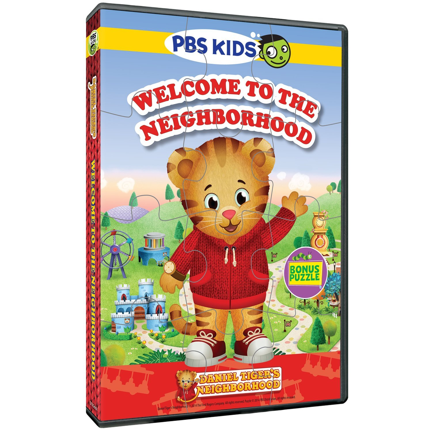 New to DVD from PBS Kids: Daniel Tiger's Neighborhood and Peg + Cat