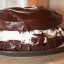 Chocolate Oreo Cheesecake Cake