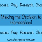 How to Decide to Homeschool