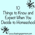 homeschooling list