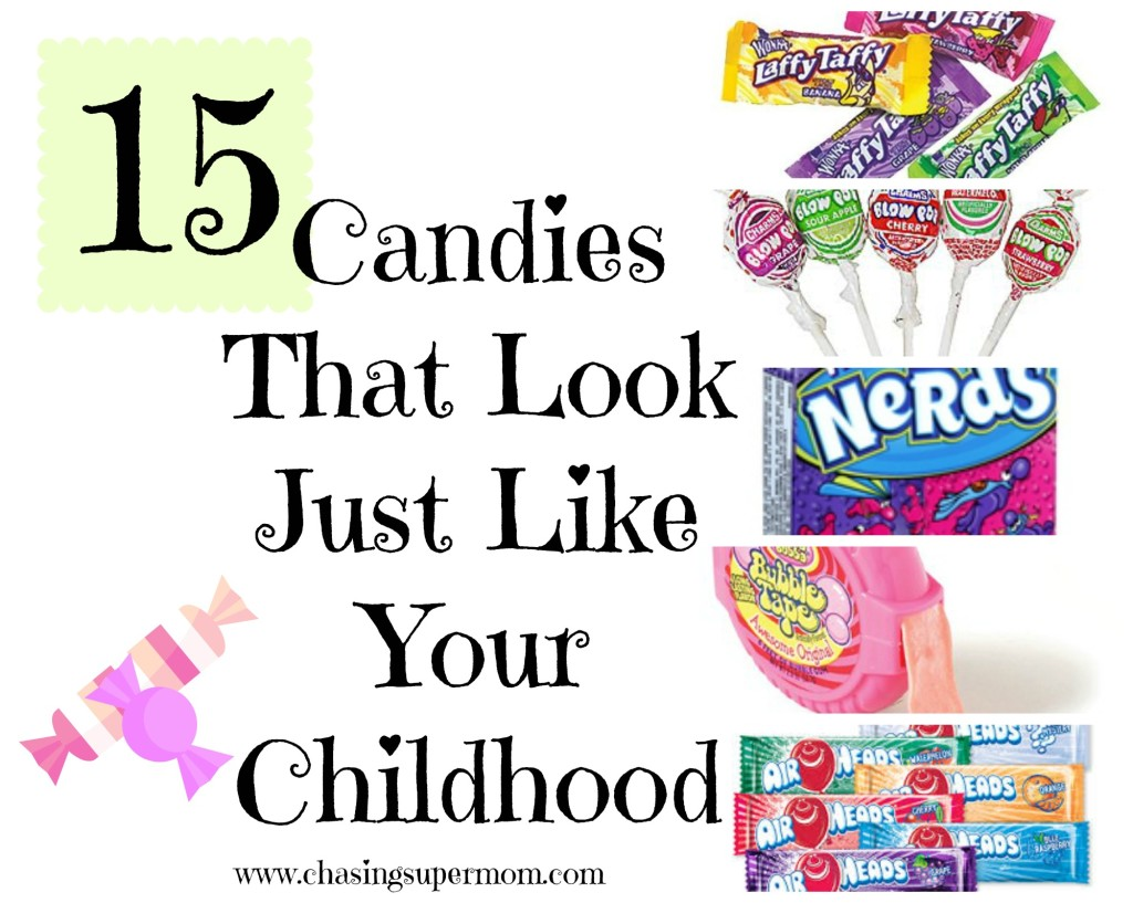 nostalgic candy, 80's candy, fun candies