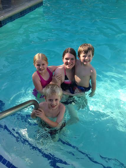 Candy Cane Inn Pool