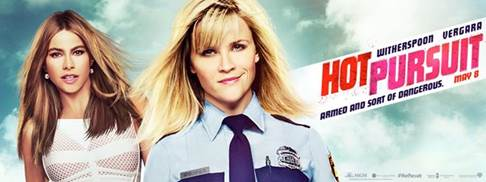 Hot Pursuit starring Reese Witherspoon and Sofia Vergara- Trailer and Movie Info