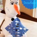 Olaf's Frozen Snowflakes – Epsom Salt Crystal Snowflakes