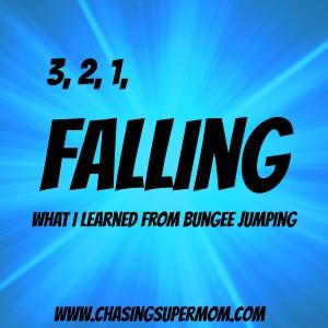 bungee, falling, blue burst