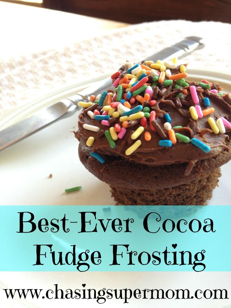 chocolate frosting, cupcake, cupcake with sprinkles, frosted cupcake, cocoa frosting, chocolate frosting recipe, sprinkle cupcake