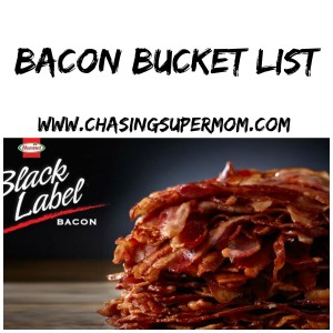 Bacon Bucket List