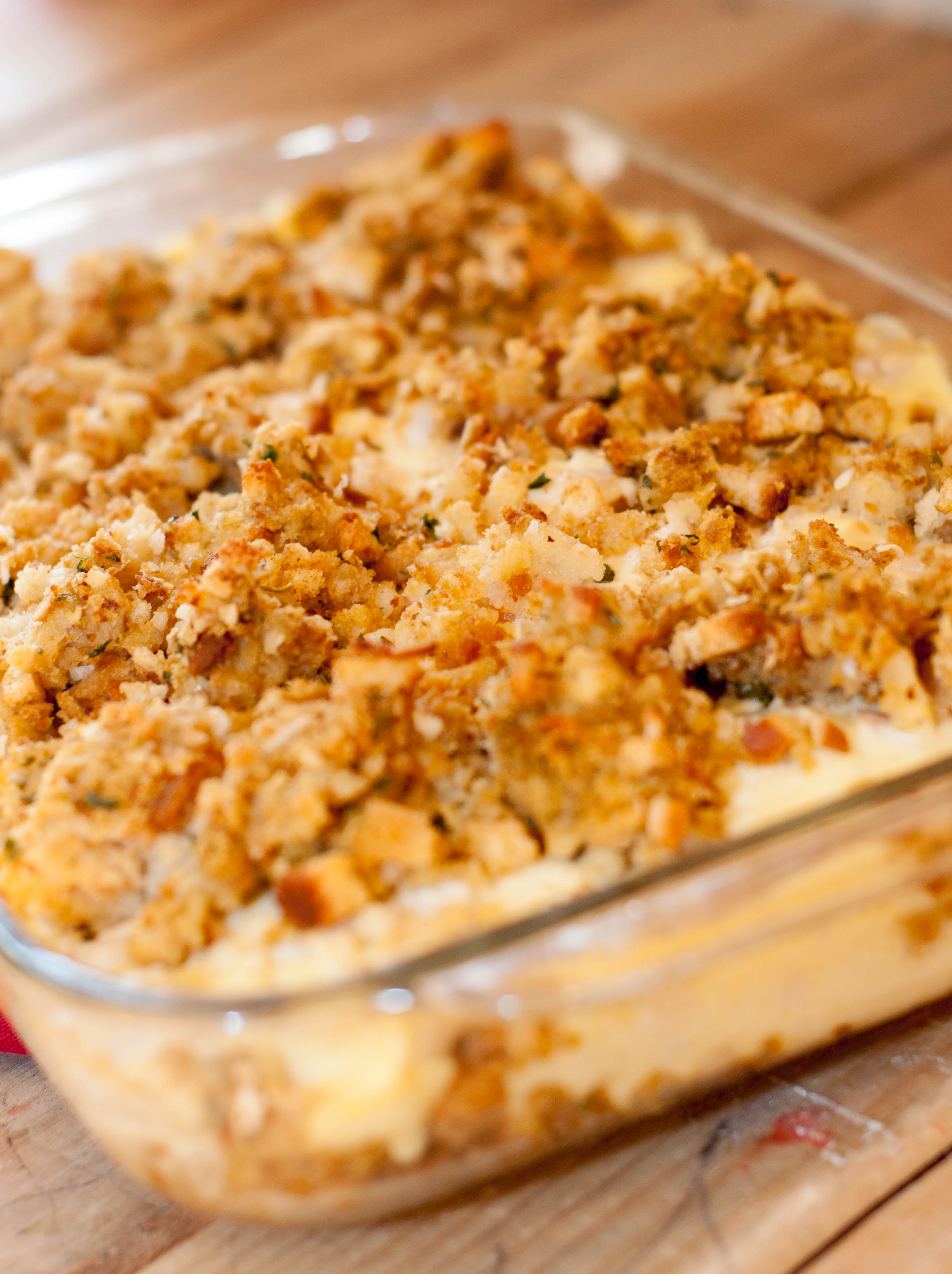 Zaycon Chicken & Stuffing Casserole
