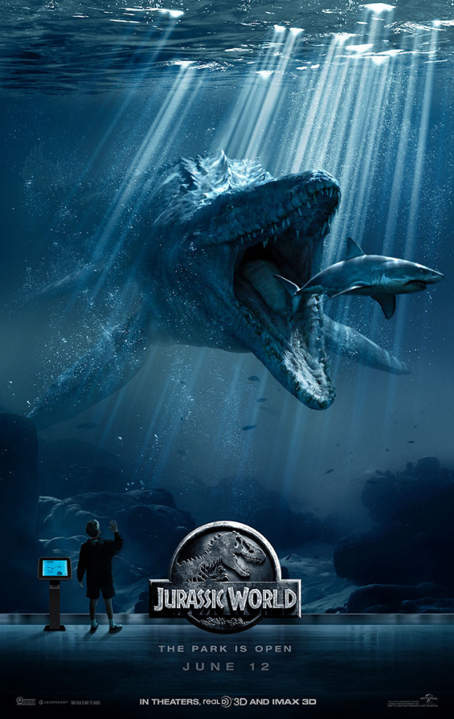 jurassic world one sheet