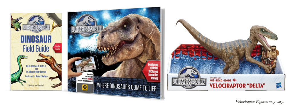 jurassic world prize pack