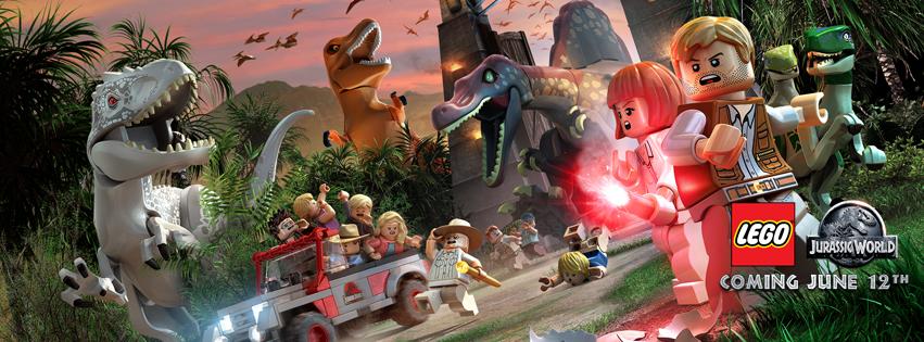 LEGO #JurassicWorld Video Game Giveaway – Wii U Jurassic World Lego Game!!