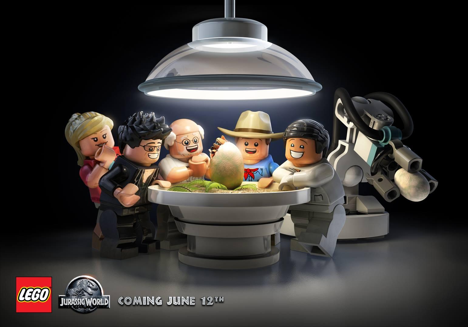 LEGO JurassicWorld Video Game Giveaway Wii U Jurassic World Lego Game