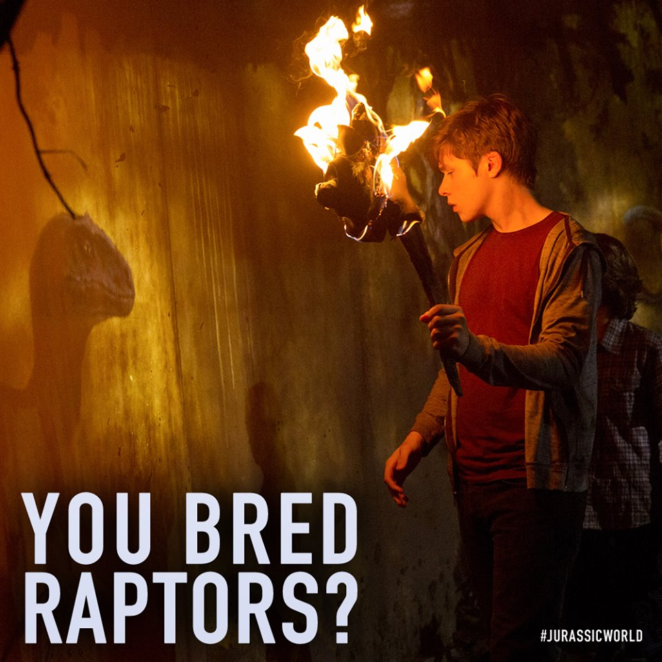 jurassic world, raptors