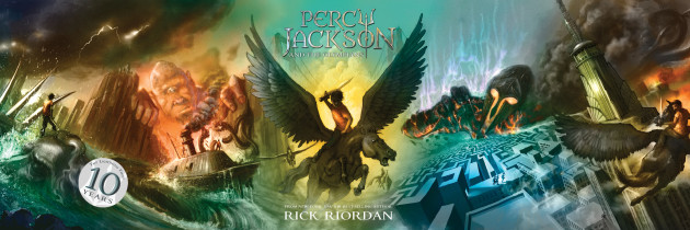 Happy Anniversary Percy!! Percy Jackson Giveaway #ReadRiordan