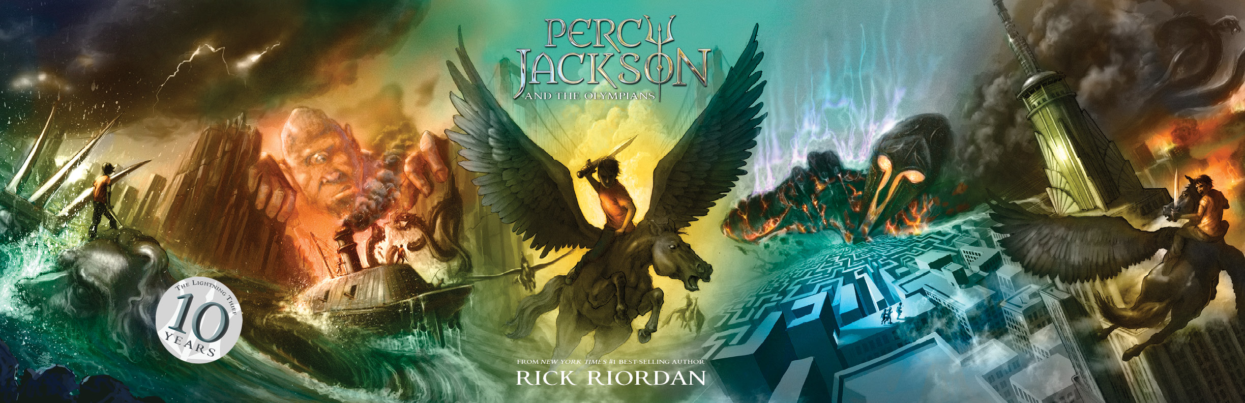 The Top 10 Best Chapters From Percy Jackson And The