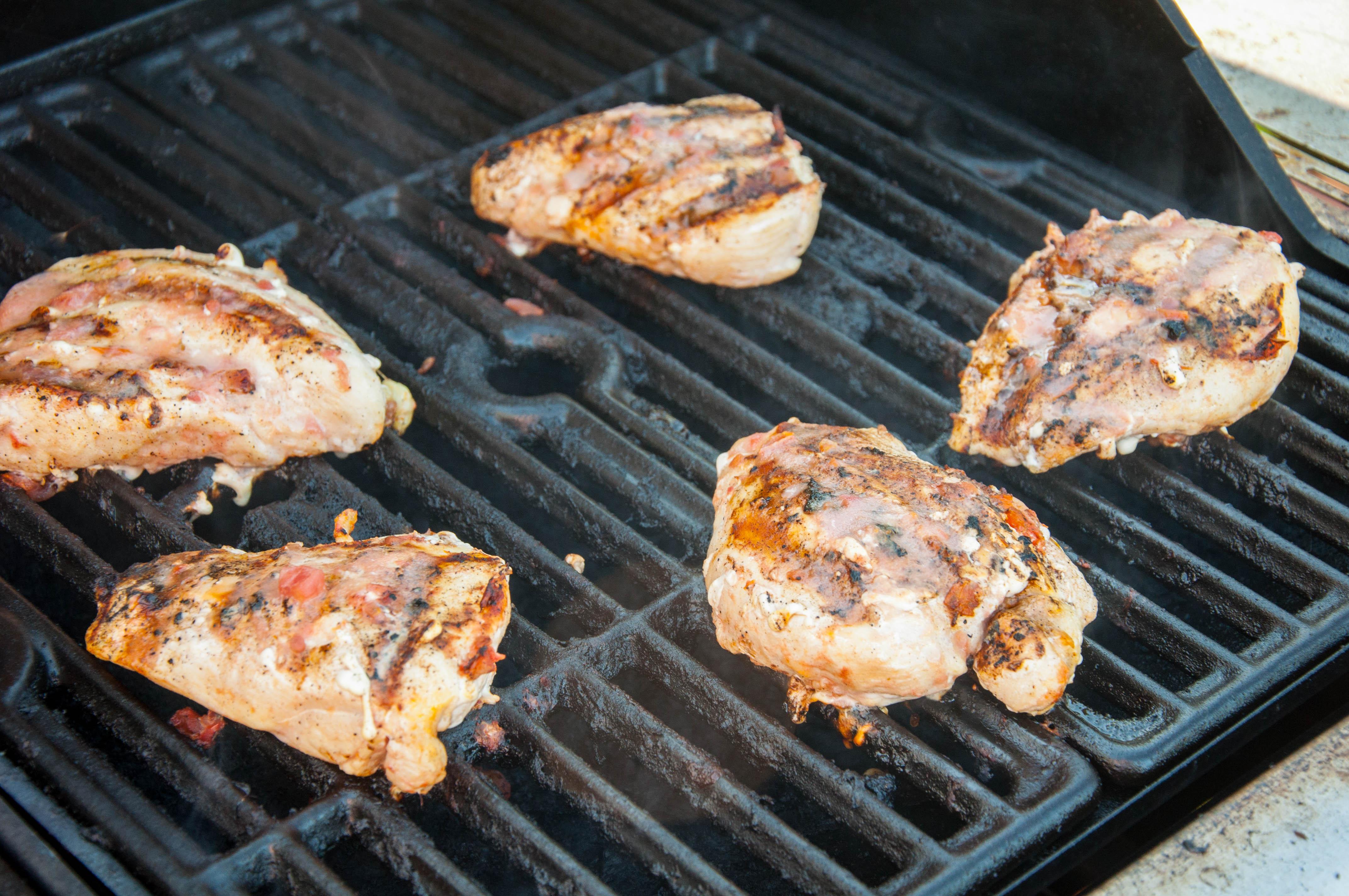 Easy Grilled Salsa Chicken
