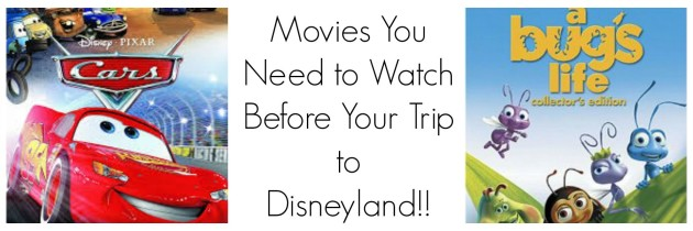 Disney Movies You Need to Watch Before Your Visit to Disneyland