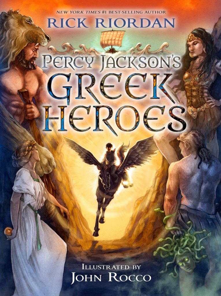 Greek Heroes Cover