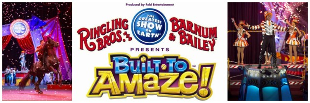 Ringling Bros. and Barnum & Bailey Present Built to Amaze! Review! Incredible Family Show!