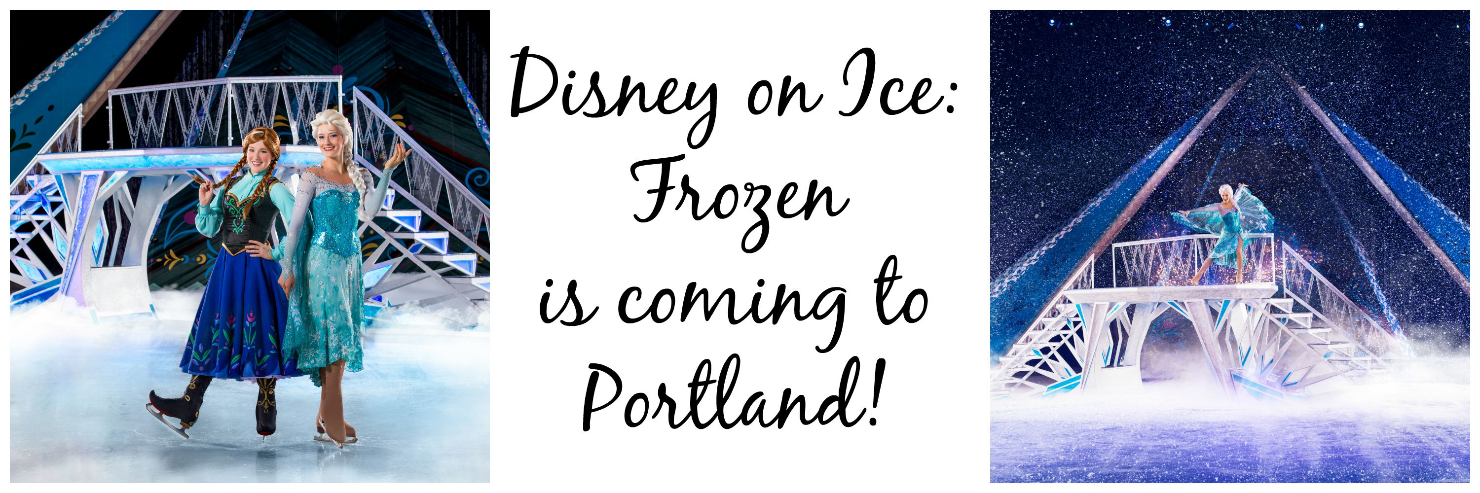 Disney On Ice: Frozen is coming to Portland!