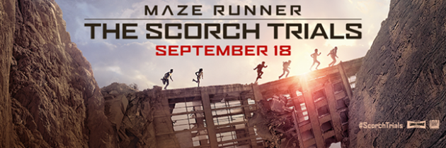 The Scorch Trials and Quiznos Giveaway!