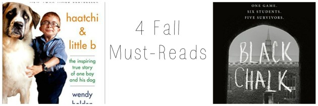 4 Fall Must Reads