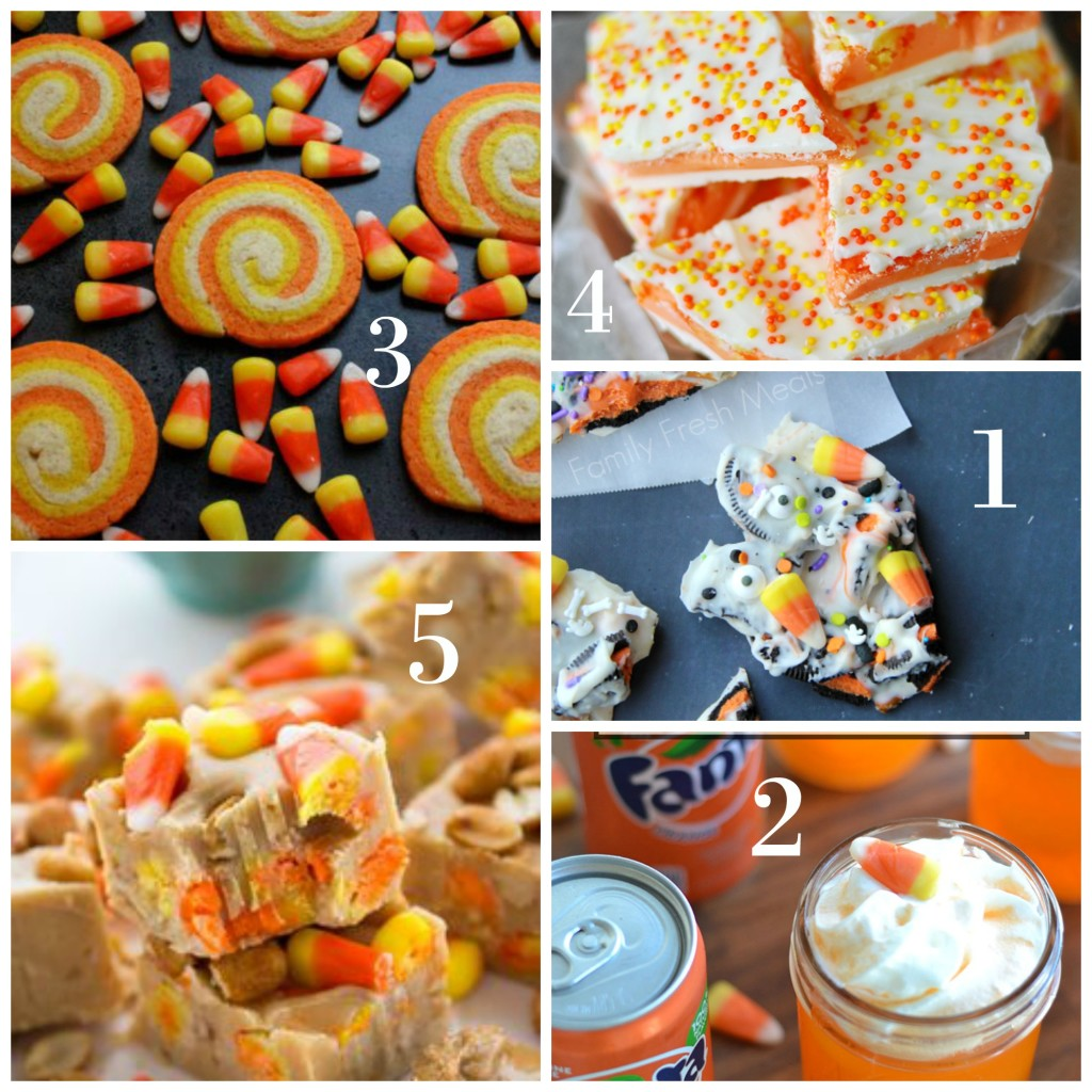 Candy Corn Collage #1