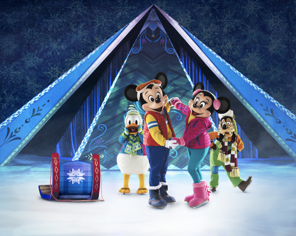 Mickey and Friends in Frozen on Ice