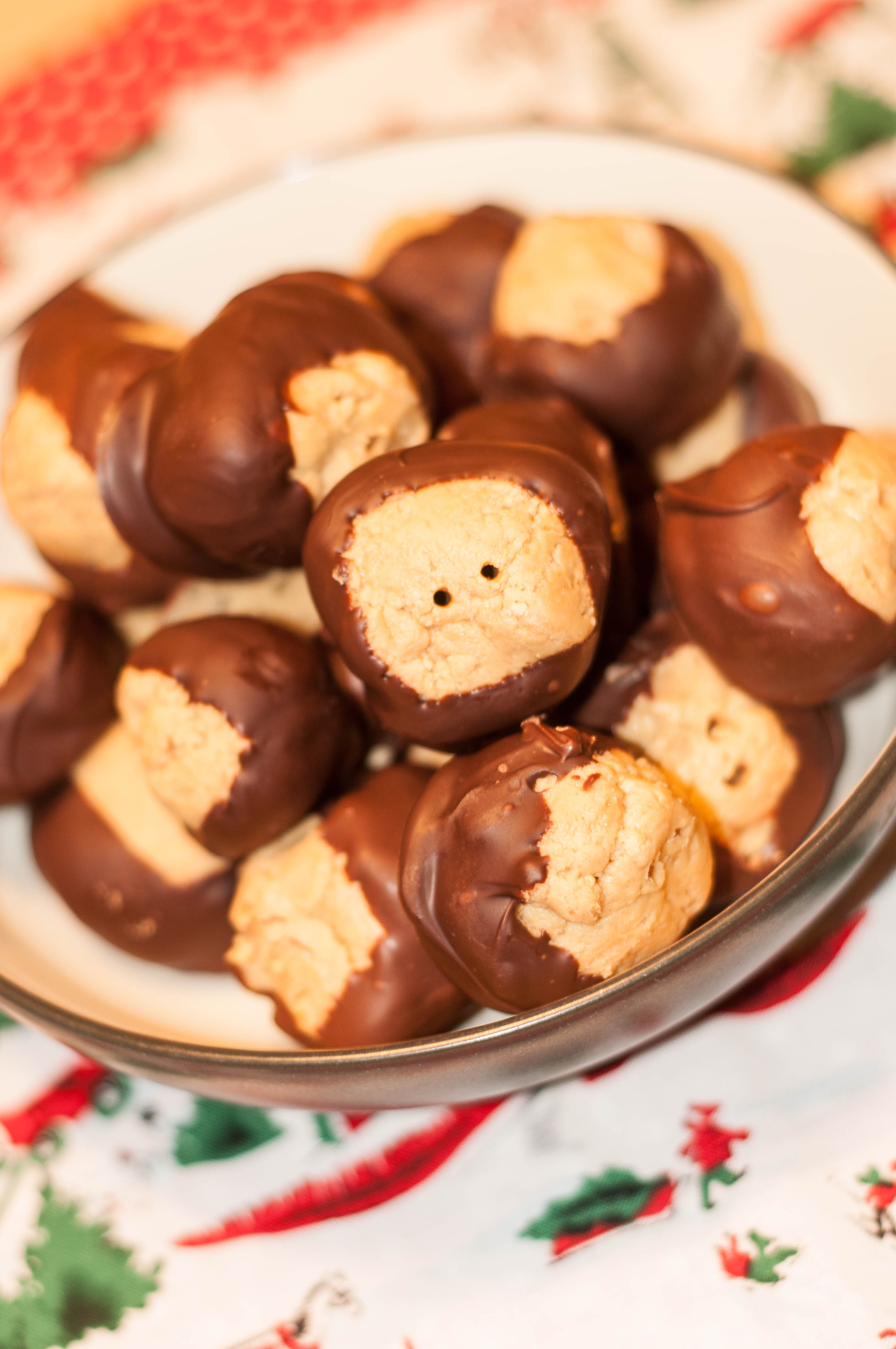 Best Ever Peanut Butter Buckeyes