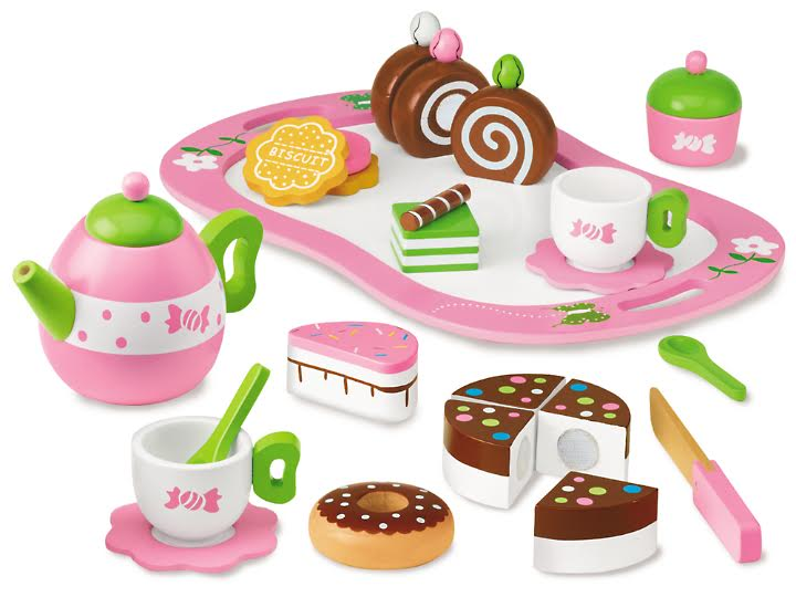 Classic Wooden Tea Set from Lakeshore Learning – 20% off Coupon