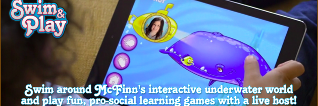 Captain McFinn's Swim & Play App – Interactive App for Kids