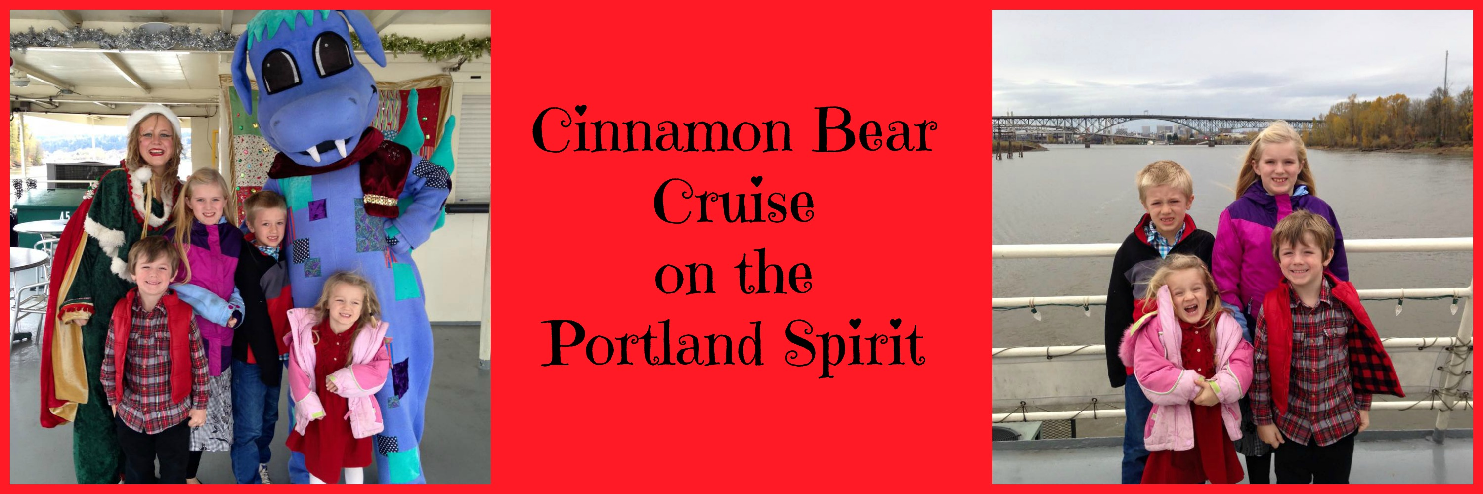The Cinnamon Bear Cruise on the Portland Spirit: Holiday Family Tradition in PDX