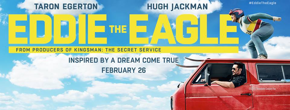 Eddie the Eagle – Movie Trailer and Info