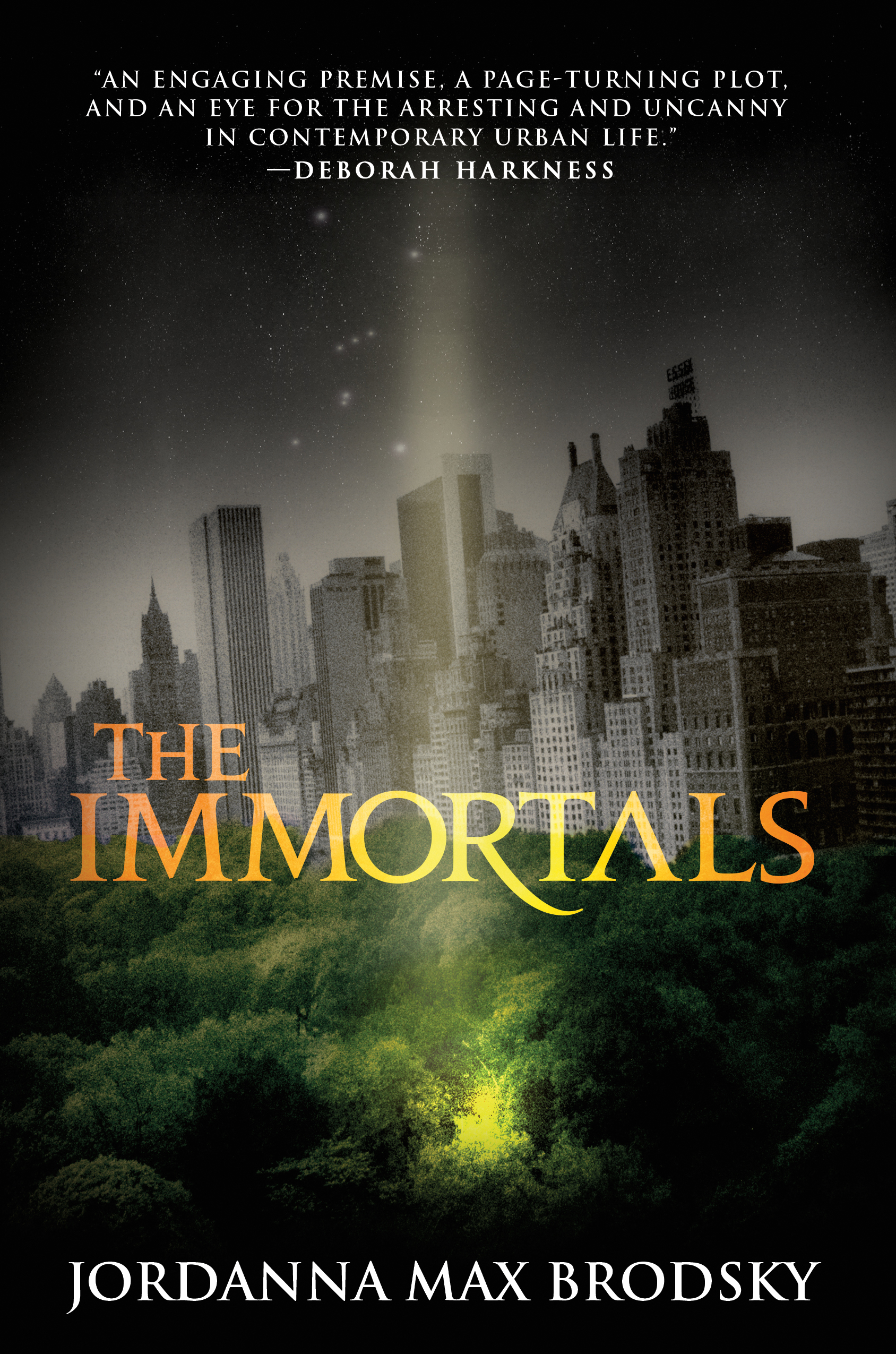 The Immortals – Exciting New Book and Giveaway!