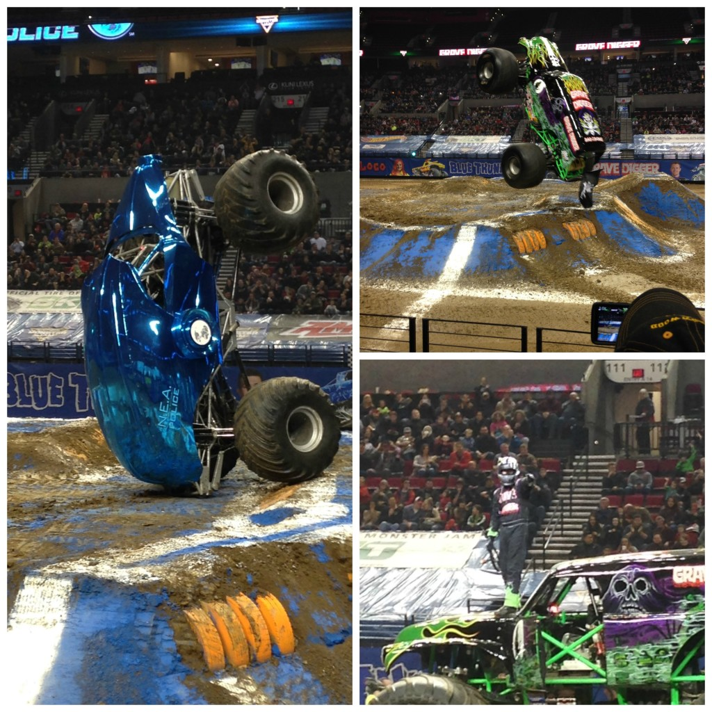 monster jam action