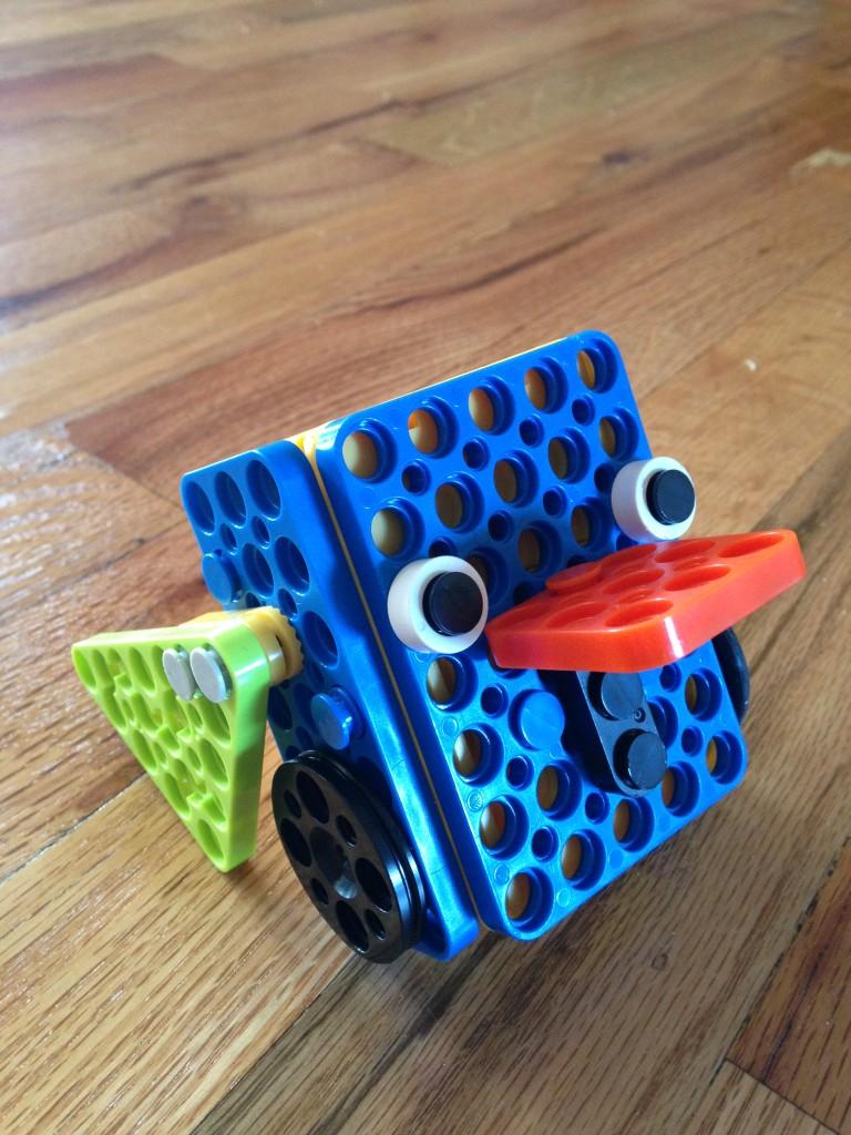 robot bird, easy robot