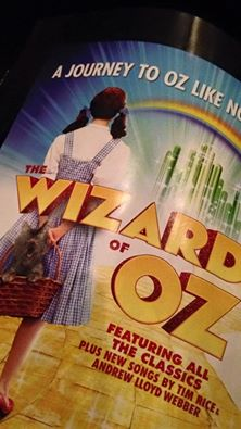 wizard of oz playbill