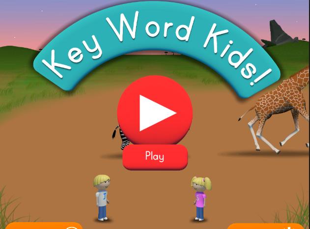 Key Word Kids App – Language Comprehension App for Kids