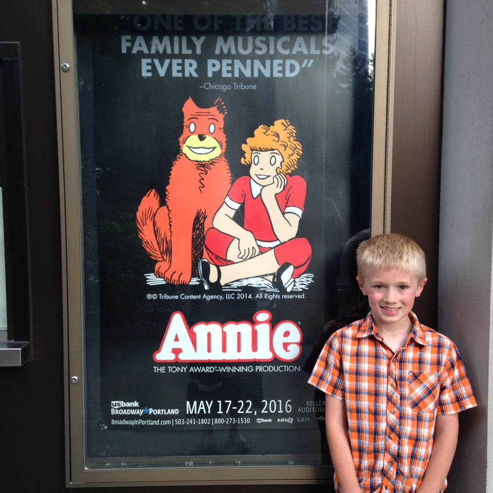 Annie with Henry