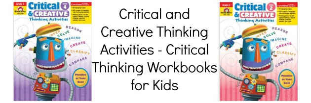 Critical and Creative Thinking Activities – Critical Thinking Workbooks for Kids