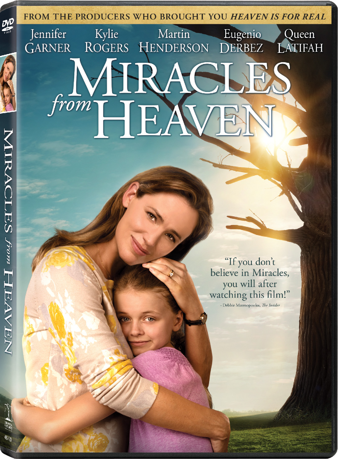 Miracles From Heaven – DVD and Visa Gift Card Giveaway: Awesome Family Film!!