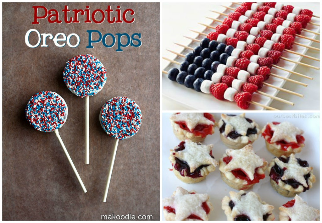 Red White Blue Food 1