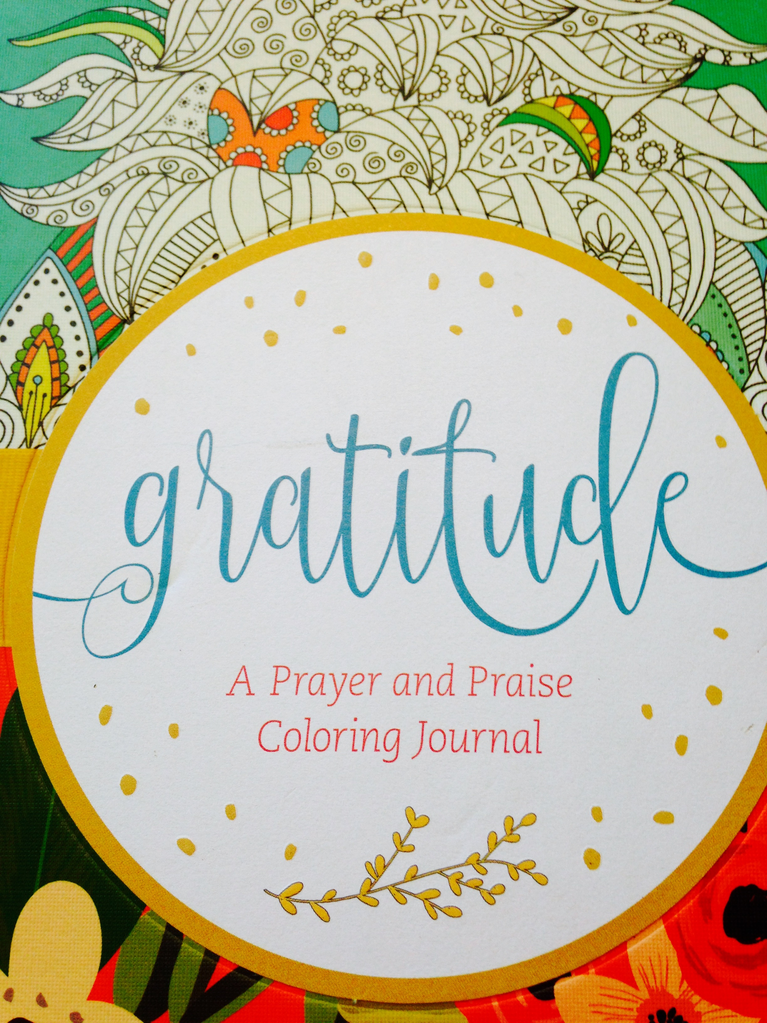 Gratitude A Prayer And Praise Coloring Journal Adding