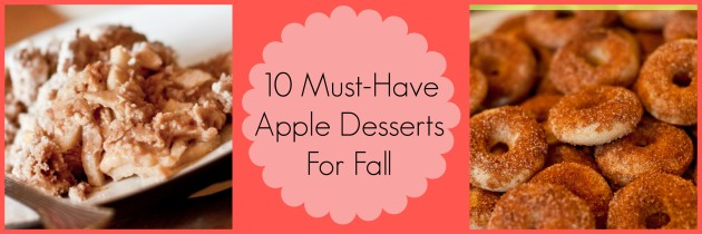 10 Must-Have Fall Apple Desserts