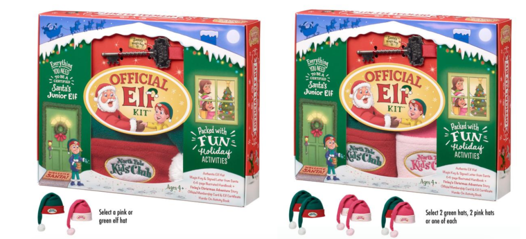 north pole kids club kit