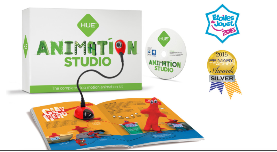 Animation Studio from HUE – Stop Motion Animation For Kids