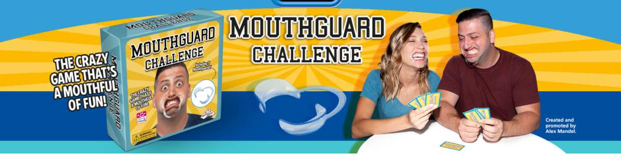 Mouthguard Challenge: Hilarious Family/Party Game