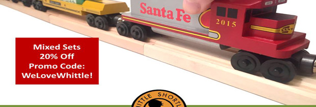 The Whittle Shortline Railroad – Save 20% On Toy Train Sets
