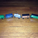 Whittle Shortline Railroad: Handmade Wooden Trains