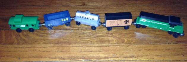 Whittle Shortline Railroad: Handmade Wooden Trains